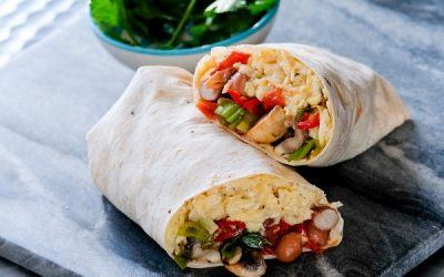 Brilliant Breakfast Burritos – cook-along with Tom