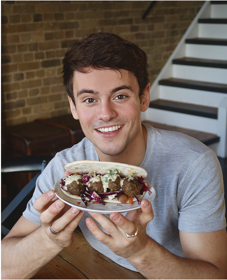 Tom Daley dives into New Year bread options with Deli Kitchen