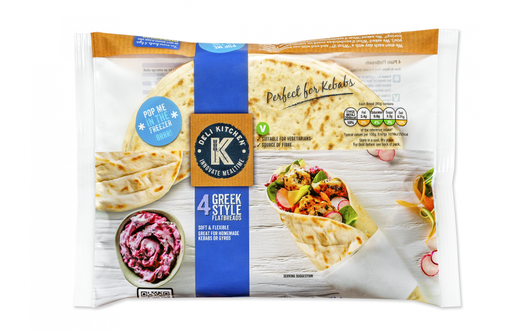Deli Kitchen launch new Greek style flatbreads to revolutionise mealtimes
